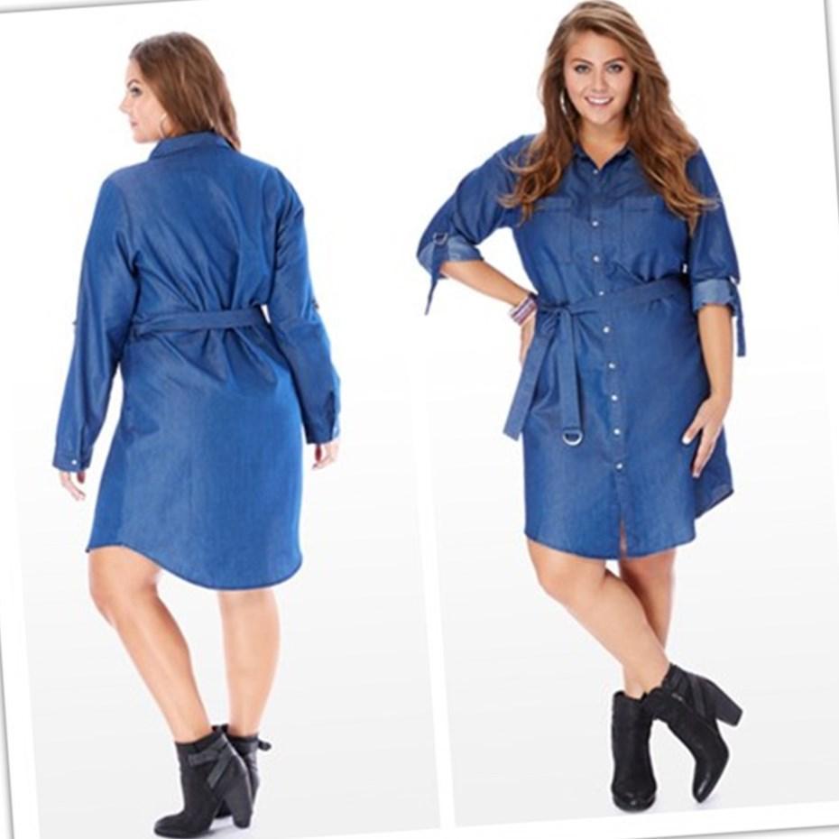 plus size shirt dresses cheap pluslook eu collection