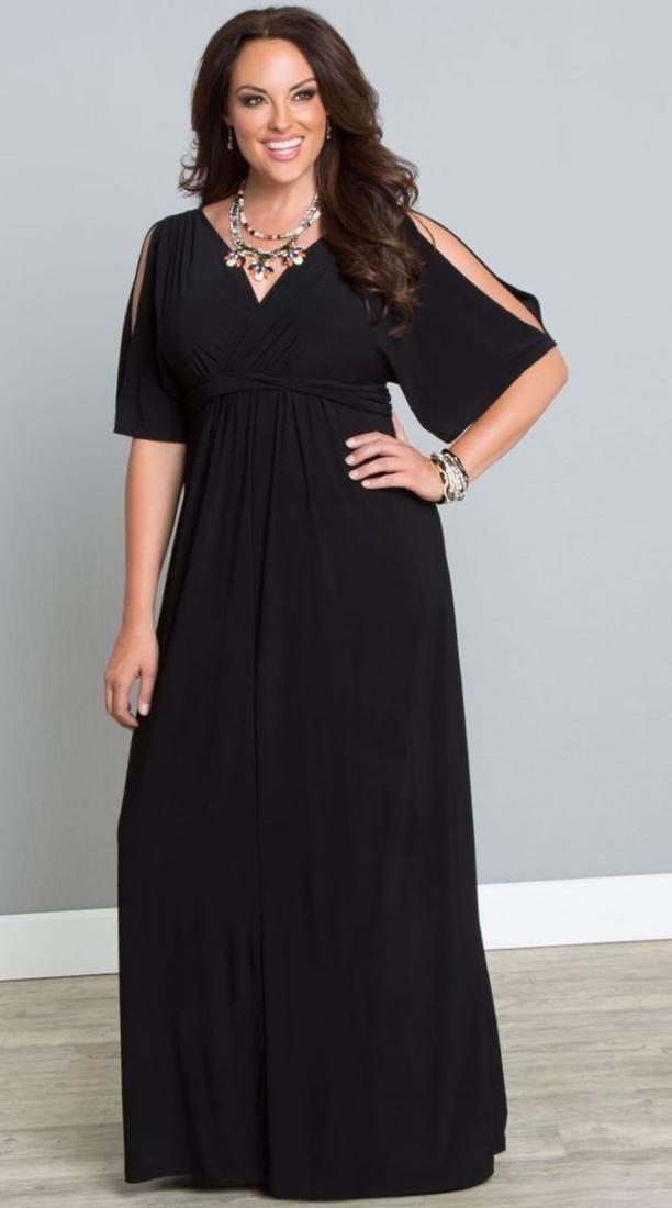maxi dress plus size off the shoulder