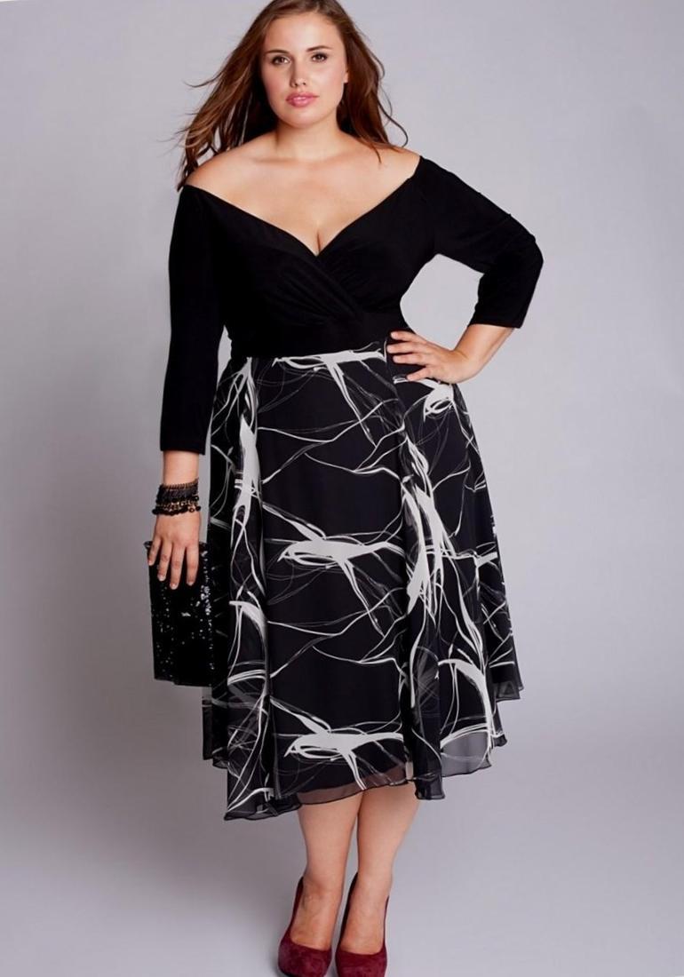 Black dresses plus size cocktail - PlusLook.eu Collection