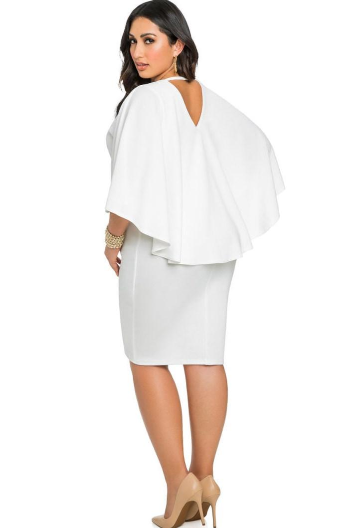 Bandage Dress Plus Size Pluslook Collection