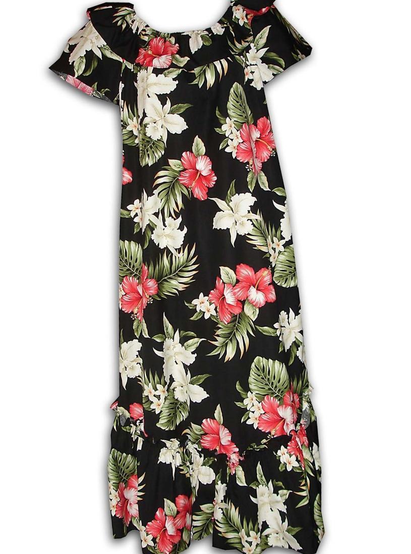 Hawaiian Dress Plus Size Pluslook Eu Collection