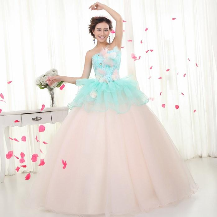 Colored wedding dresses plus size collection for Colored wedding dresses plus size