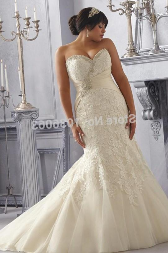 Strapless Plus Size Wedding Dresses Pluslook Collection