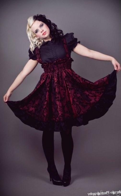 Gothic Lolita Jumper Black Cotton Dress-3X-5X Plus Size Custom to your size Fashion Gothic, Size Custom, Cotton Dresses, Gothic Lolita, Black Cotton,