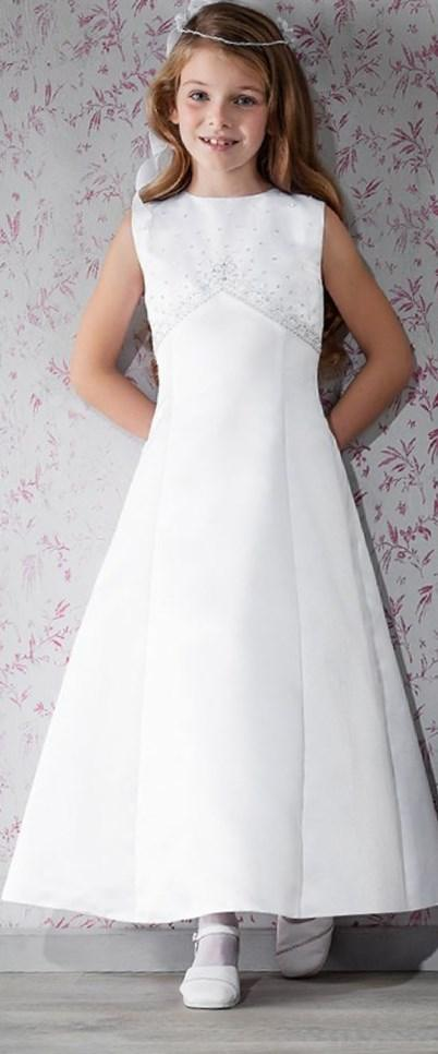 Classic Simple First Communion Dress - Emmerling 70142 - New 2017 - Age 6 8 9