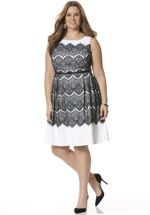 Jc penny plus size dresses collection for Jcpenney wedding dresses for guest