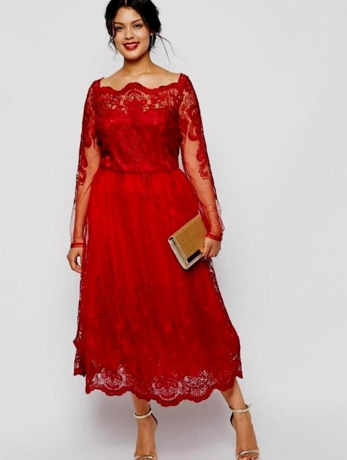 Plus Size Peplum Dress With Lace Sleeves Eligent Prom Dresses
