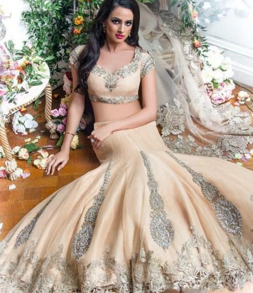 Plus size indian wedding dresses collection for Plus size indian wedding dresses