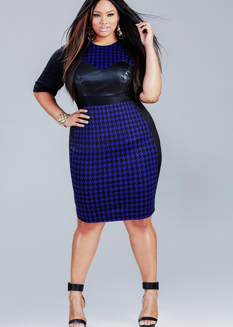 Plus Size Model Dress Size Pluslook Eu Collection