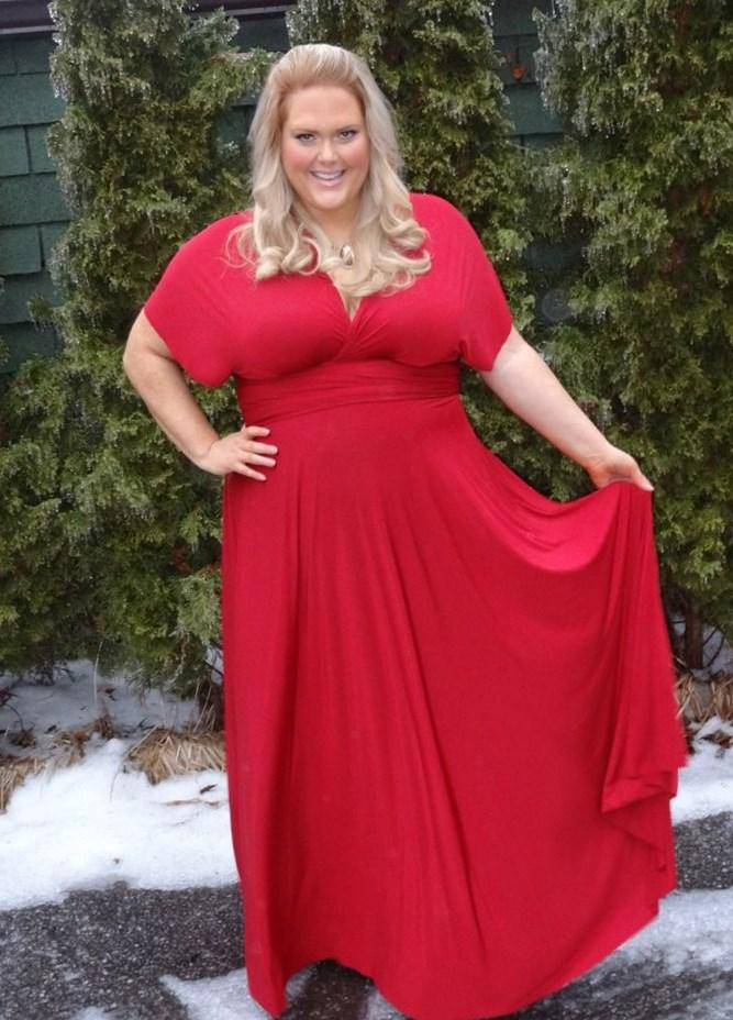 Infinity plus size dress