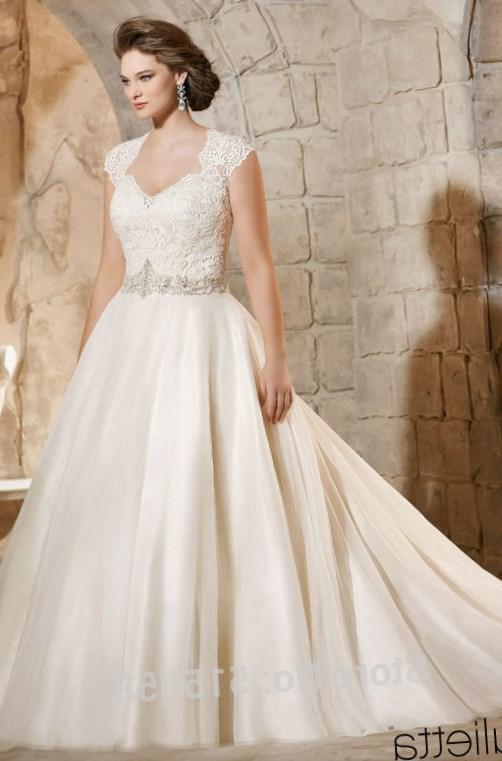 Plus Size Ball Gown Wedding Dresses High Cut Wedding Dresses