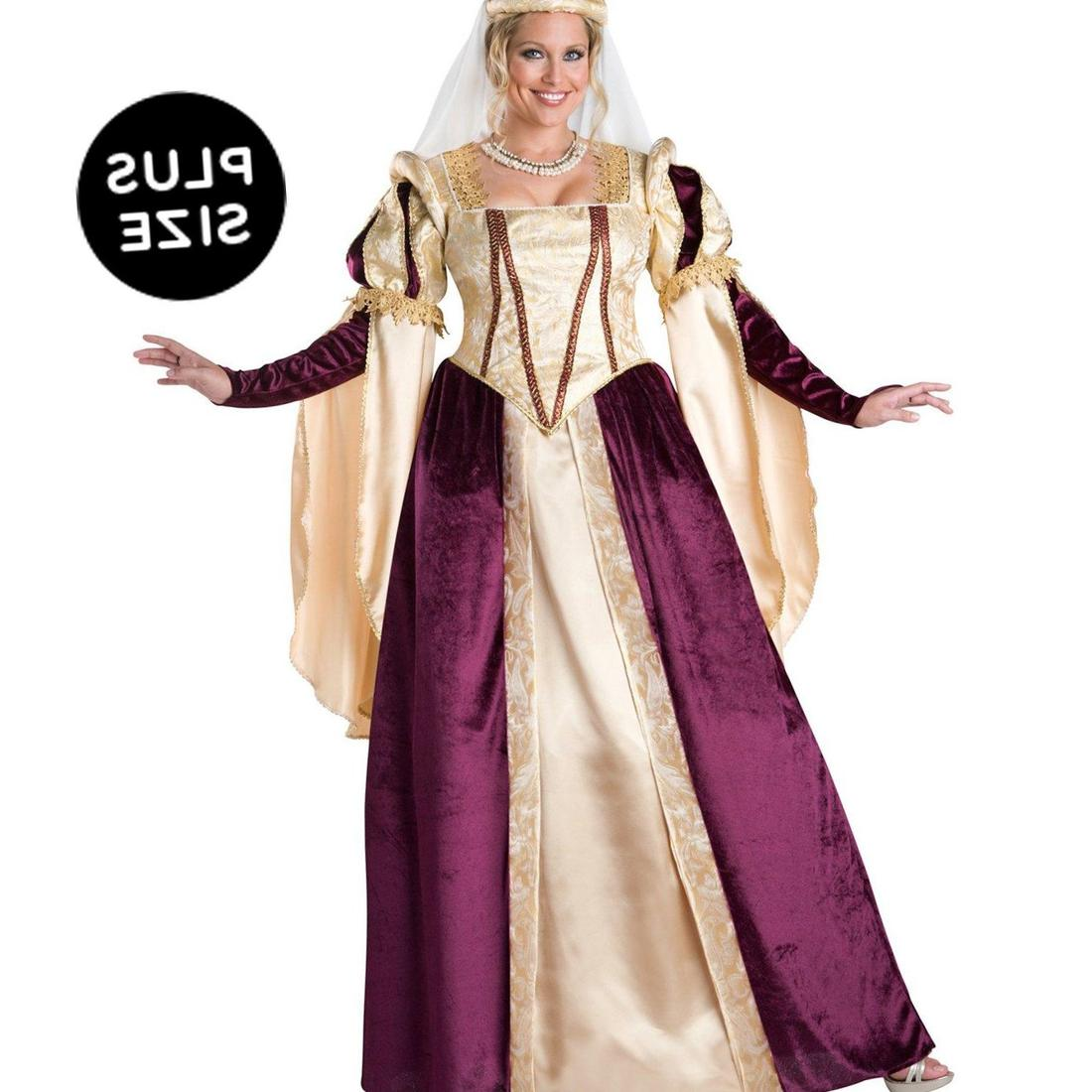 Renaissance Wedding Dresses Plus Size: Medieval Dress Plus Size