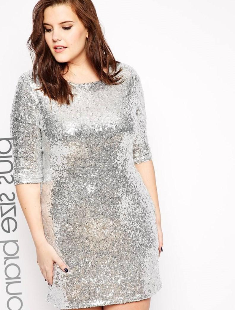 Plus size glitter dresses - PlusLook.eu Collection