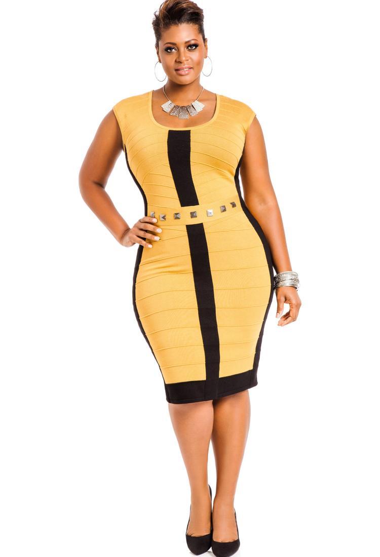 Plus Size Model Evening Dress Fashion Dresses