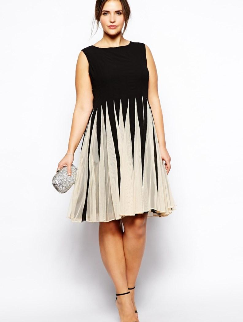 Plus Size Chiffon Dresses for Women