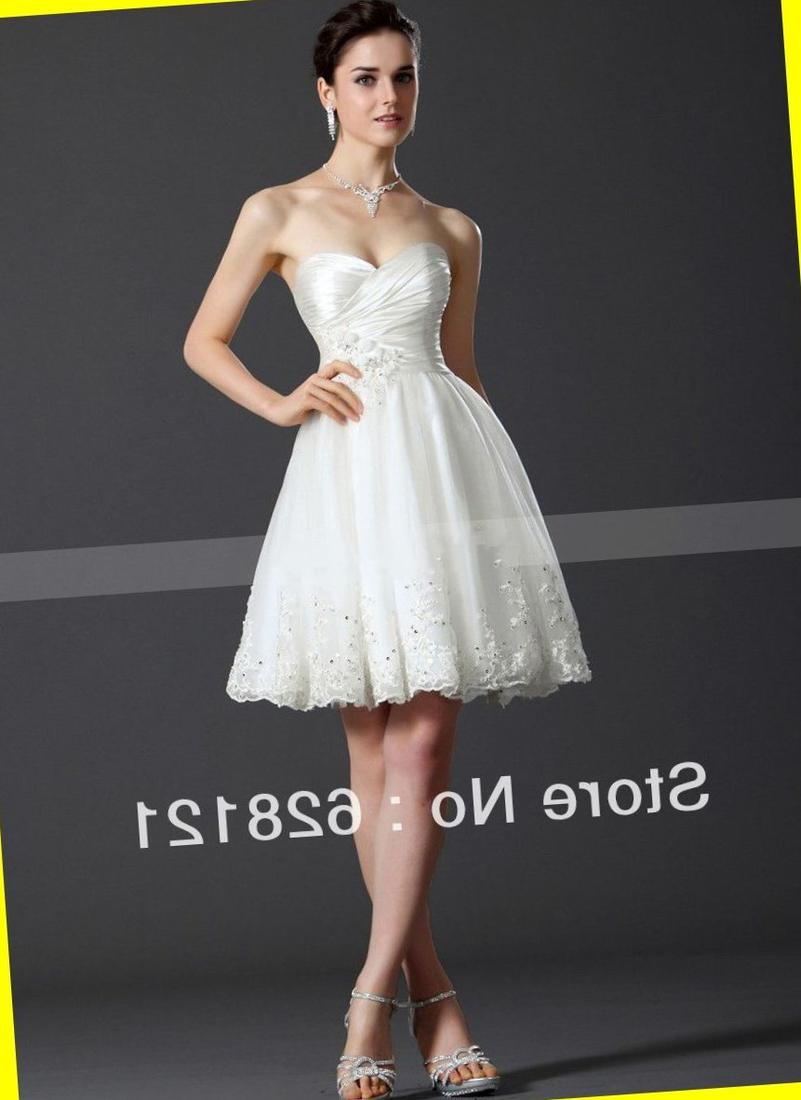 Way-In Strapless Lace Bodice Party Dress (Juniors)