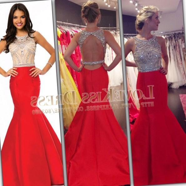 More Views. Red Detailed Long Sleeve Fitted Plus Size Gown