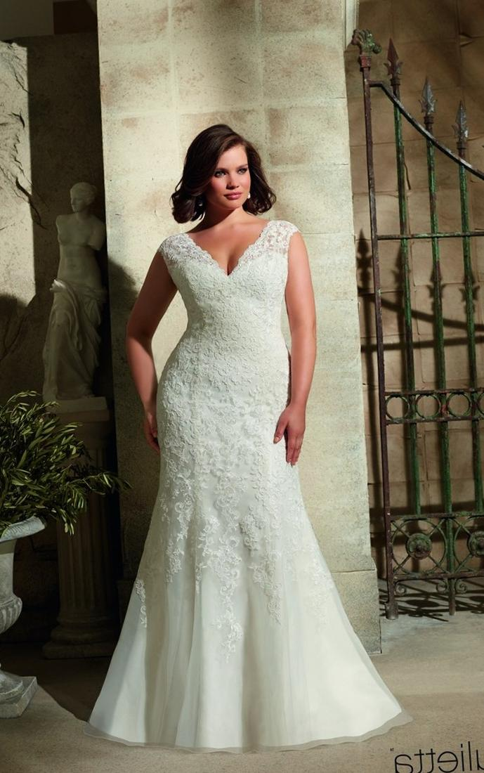 plus size fitted wedding dresses collection