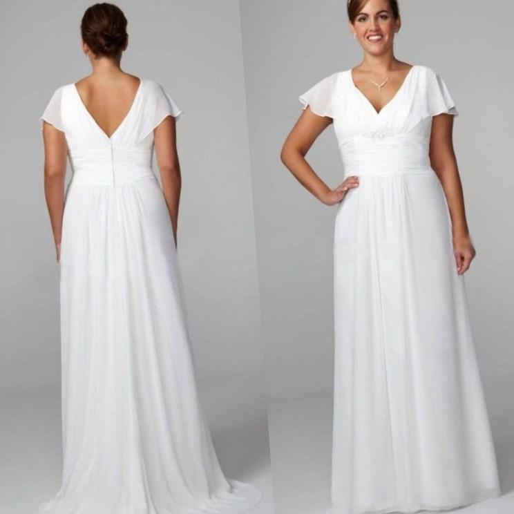 Plus size wedding dresses under 100 great ideas for for Plus size wedding gowns under 100