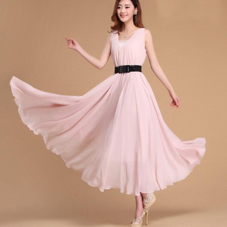 Pink plus size wedding dress - PlusLook.eu Collection