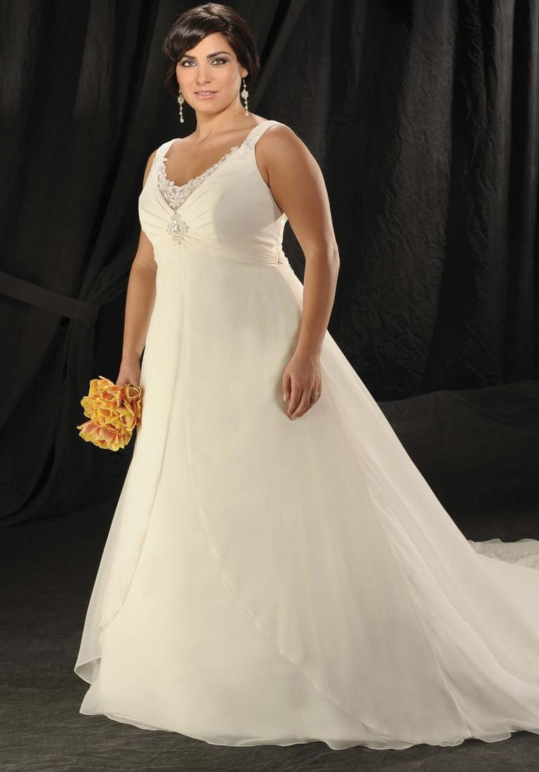 Designer wedding dresses plus size