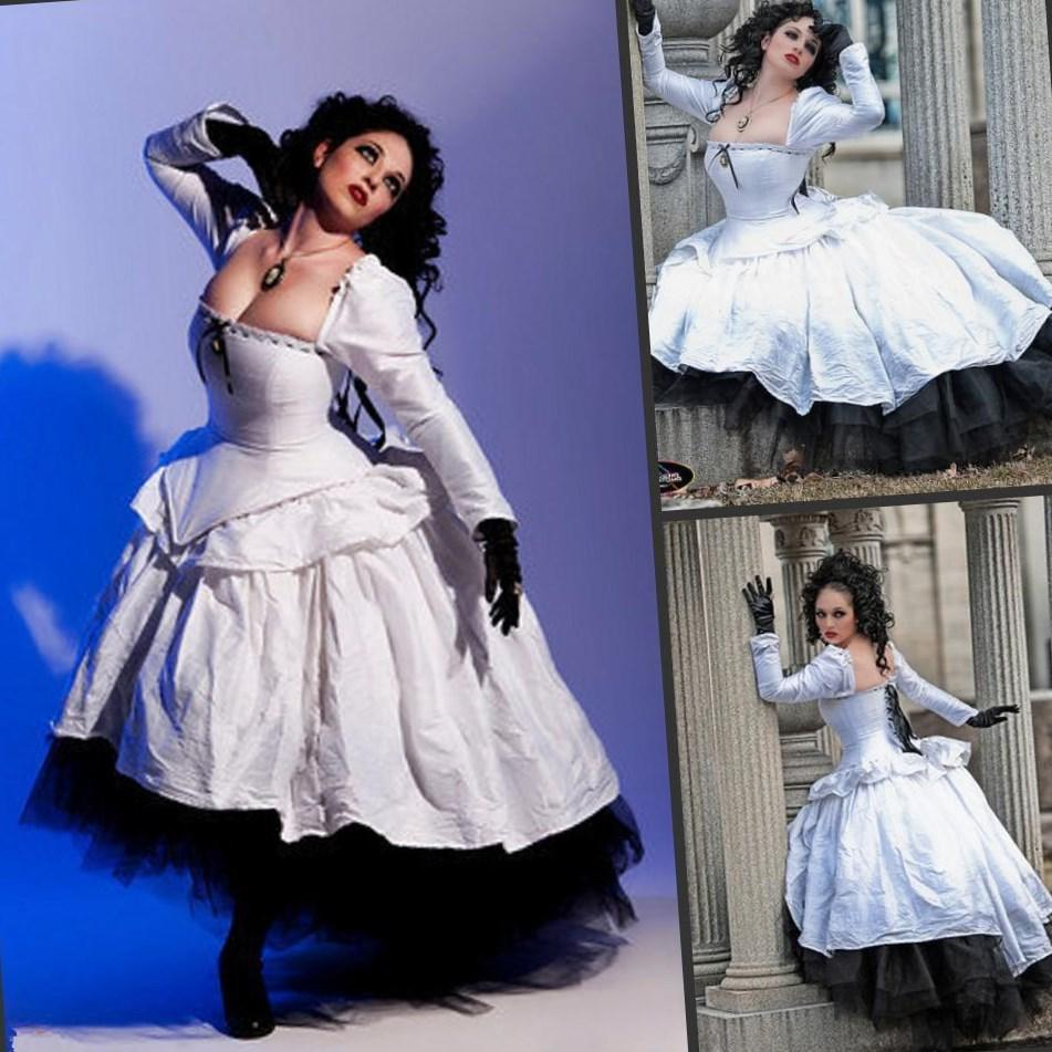 Popular Plus Size Gothic Wedding Gowns Buy Cheap Plus Size: Plus Size Victorian Dress
