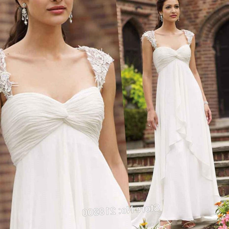 Best Wedding Dresses For Apple Shape