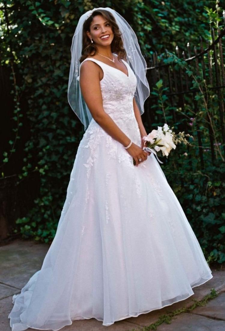 David bridal plus size wedding dresses for Wedding dress davids bridal