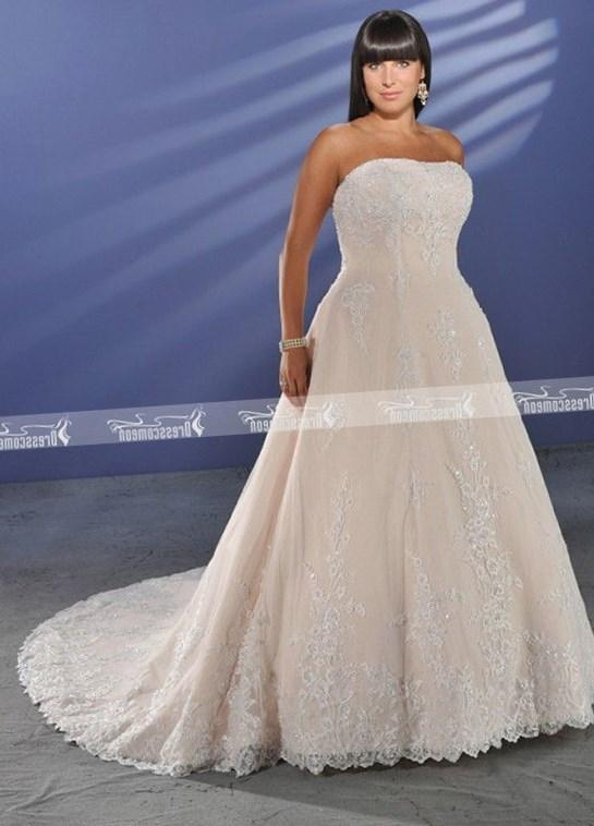 Plus size wedding dresses patterns formal dresses for Second hand wedding dresses near me