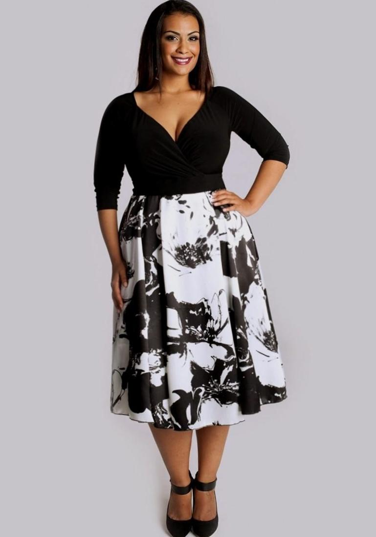 Semi formal black dresses plus size