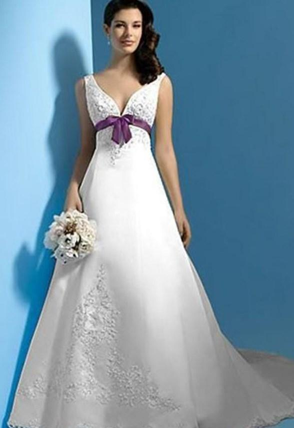 Plus size purple wedding dresses - PlusLook.eu Collection