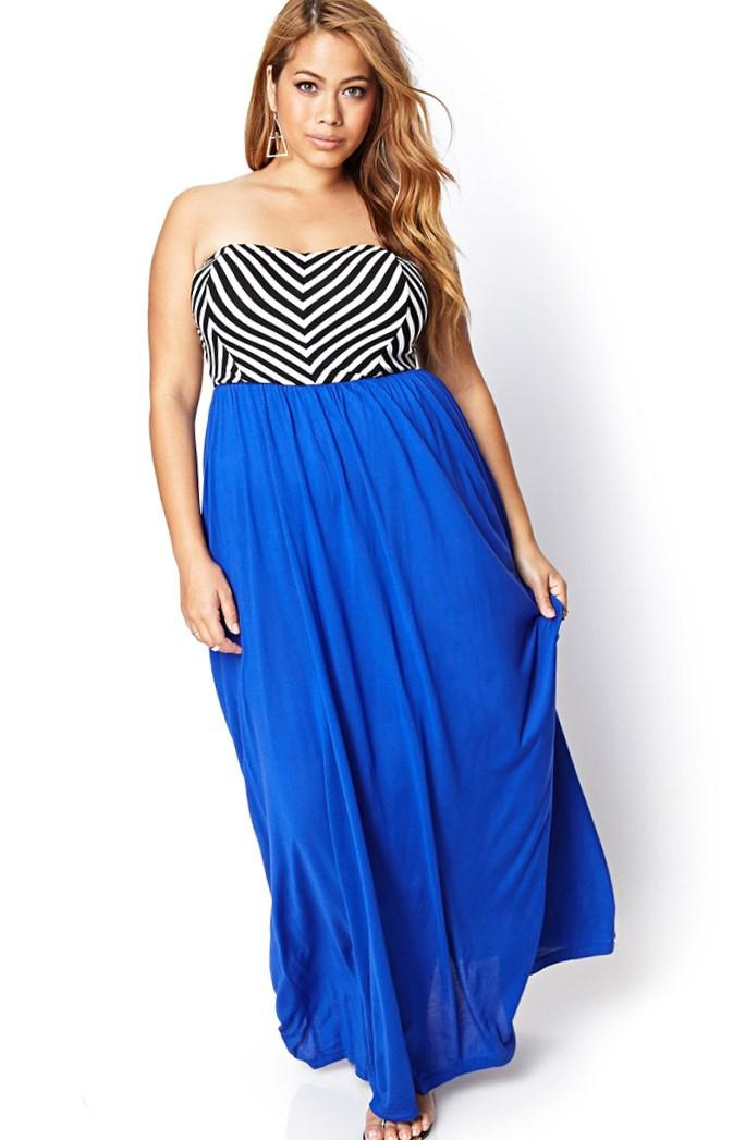 Colorblock Cocktail Dress Plus Size Fashion Design Images