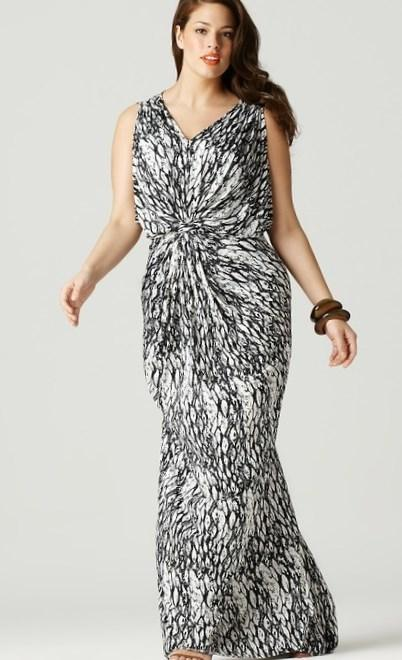 Monica Plus Size Gown in Black - Plus Size Maxi Dresses by IGIGI