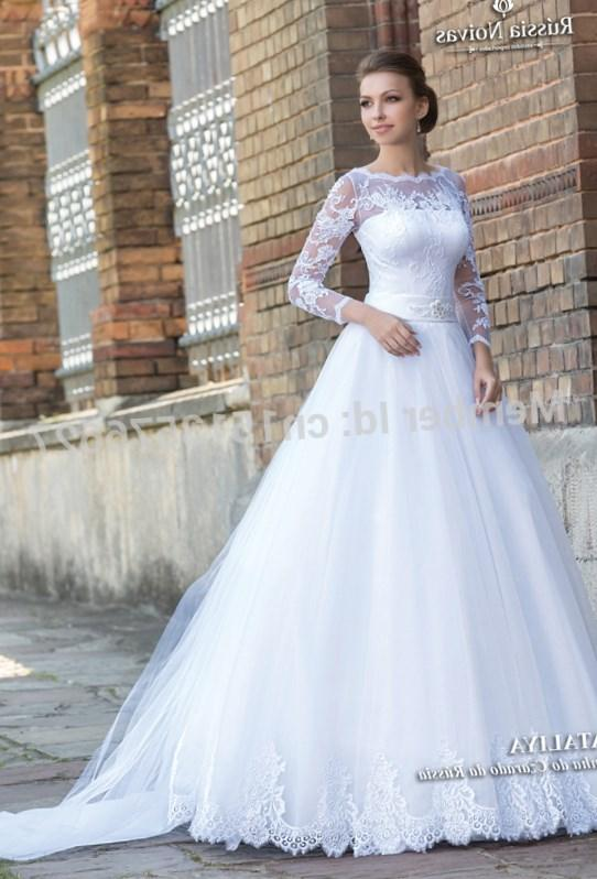 Designer Wedding Dresses For Design A Line V Neck Sweep Train Empire Waist Plus Size