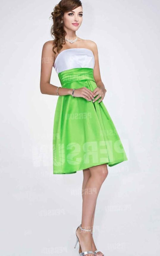 Lime Green Party Dress