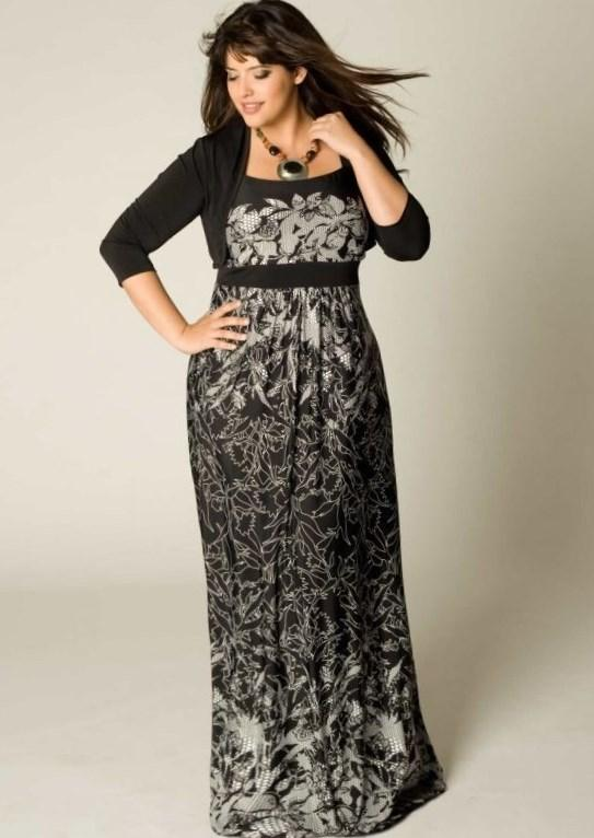 maxi dress for plus size india