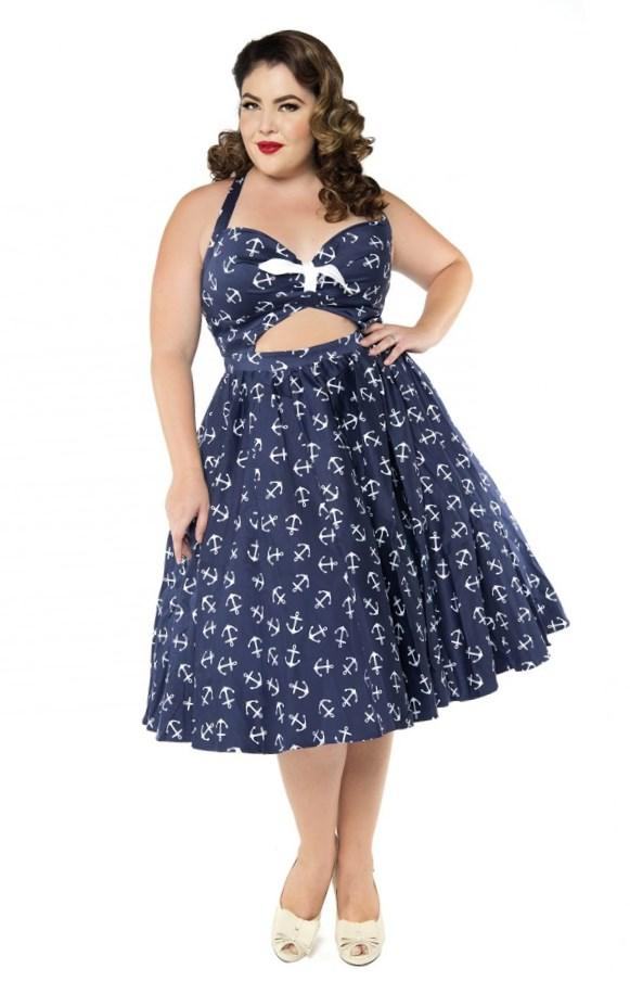 Buy Plus Size Pin Up Dress - Prom Dresses With Pockets