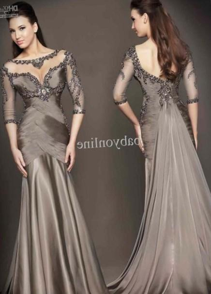 Popular Long Sleeve Prom Dresses Plus Size Buy Cheap Long Sleeve