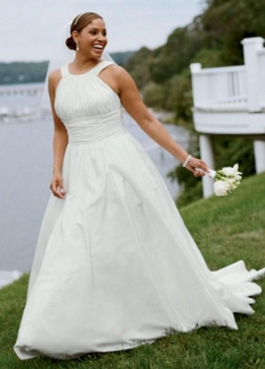 2017 Davids Bridal Plus Size Wedding Dresses Spring Collection