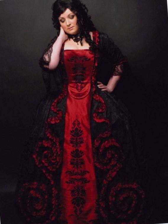 Plus Size Ball Dress Pluslook Eu Collection