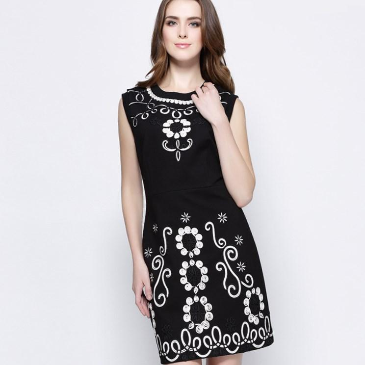 Plus Size Black Tank Dress Pluslook Collection