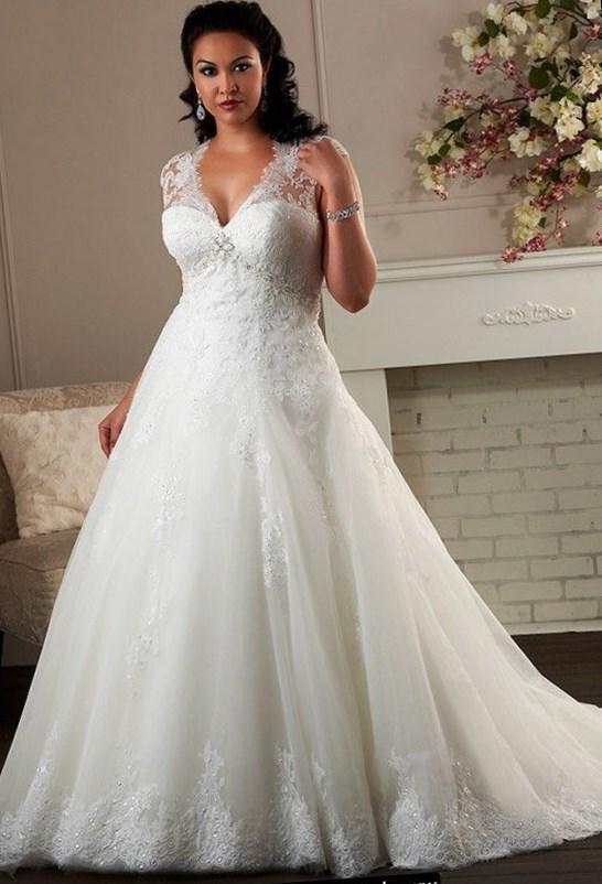 Curvy Wedding Dresses 2018