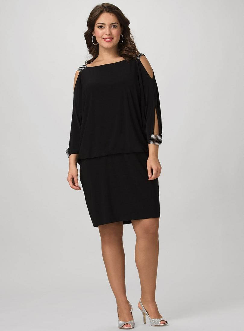 Black Cocktail Dress Dress Barn