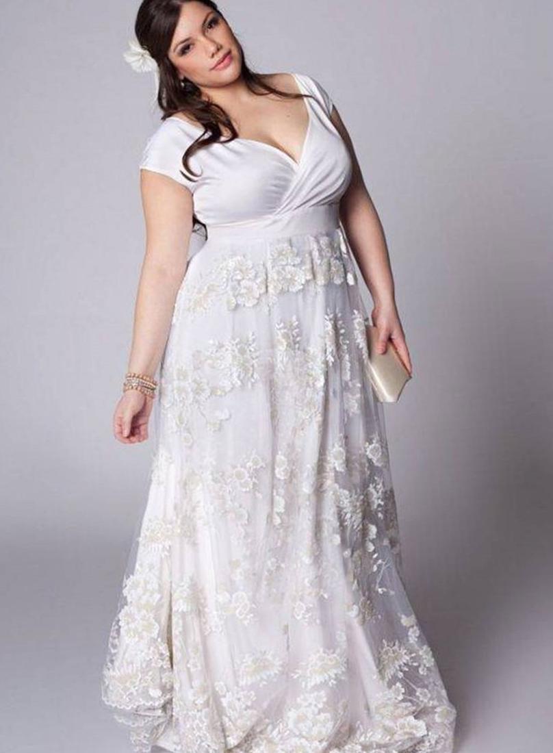 Casual Plus Size Wedding Dress Pluslook Eu Collection