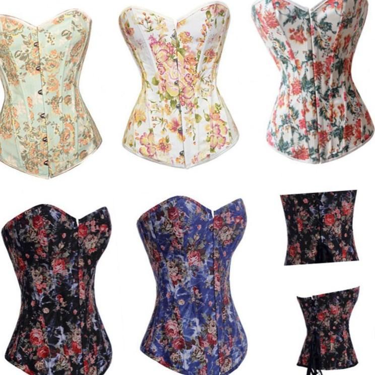 Cheap Plus Size Corset Dresses