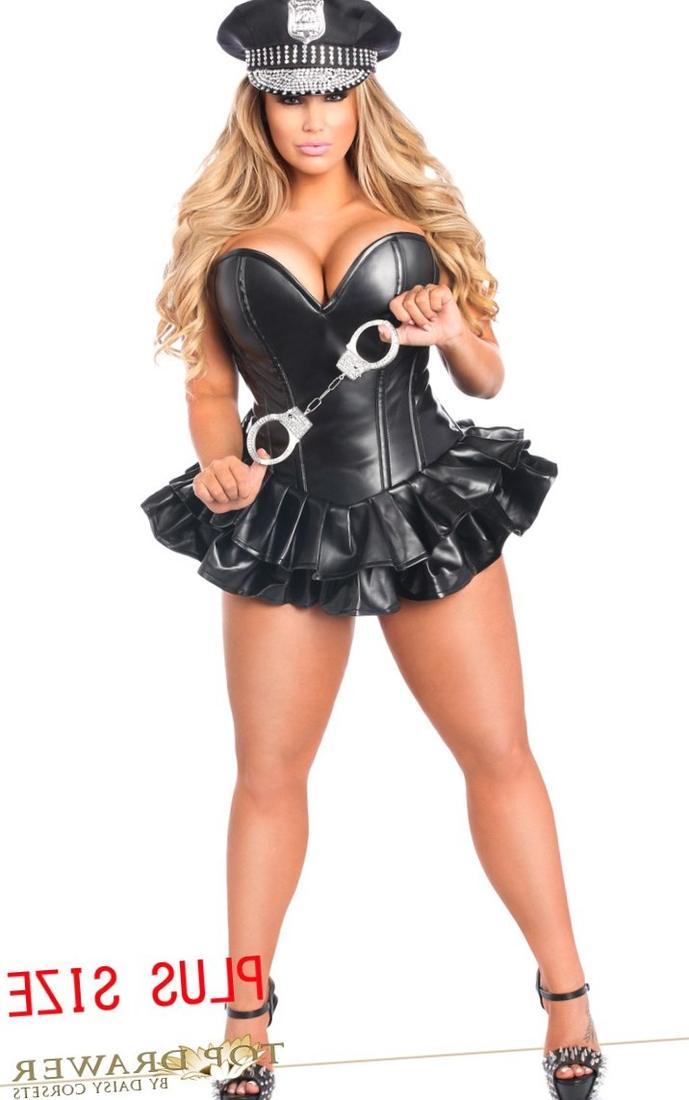 Plus size corsets dresses