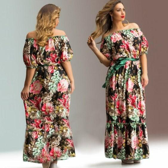 Plus Size Maxi Dreses For Sumer Weding 027 - Plus Size Maxi Dreses For Sumer Weding