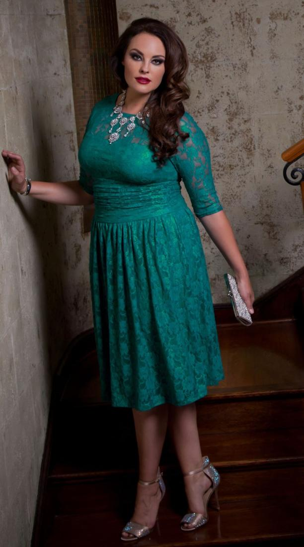 Real Curves for Wrapped in Romance Dress-Sale