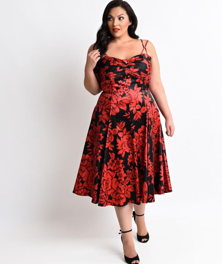 Rock your curves in our New Holiday Plus Size Red, Black,