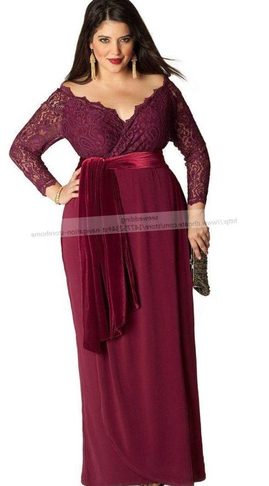 Plus size maternity evening dress - PlusLook.eu Collection
